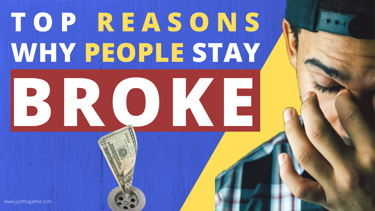 TOP 5 Reasons Why MOST People Are Broke